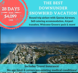 The Best Downunder Snowbird Vacation
