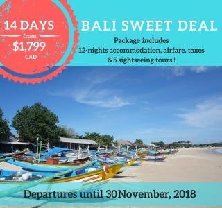Bali Sweet Deal
