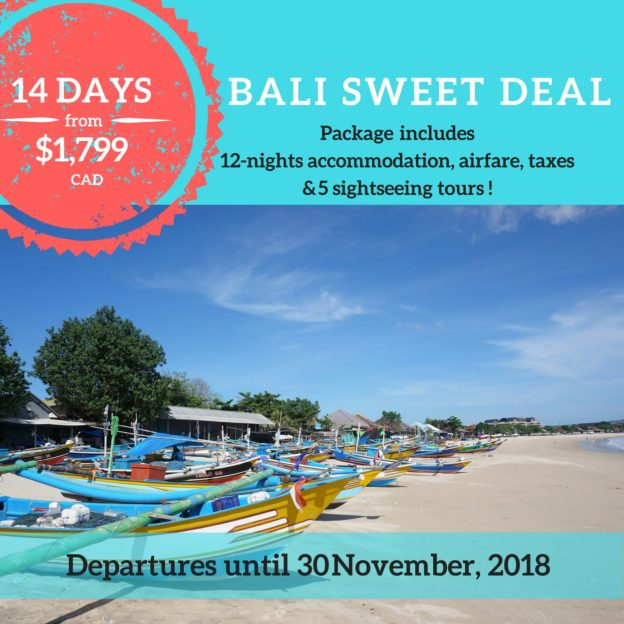 Travel Wonders Bali Sweet Deal